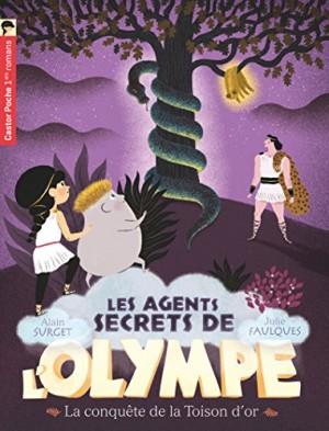 """Afficher """"Les agents secrets de l'Olympe n° 7 La conquête de la Toison d'or"""""""