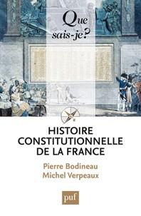 """Afficher """"Histoire constitutionnelle de la France"""""""