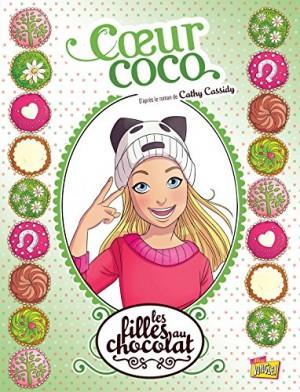 """Afficher """"Les filles au chocolat n° 4 Coeur coco"""""""