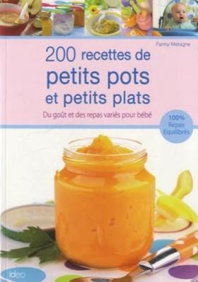 """Afficher """"200 recettes de petits pots et petits plats"""""""