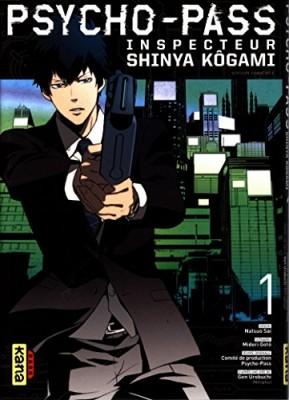 """Afficher """"Psycho-Pass - Inspecteur Shinya Kôgami n° 1"""""""