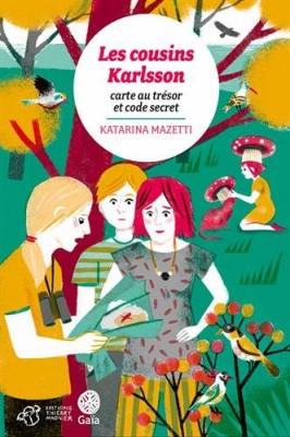 """Afficher """"Les cousins Karlsson n° 7 Carte au trésor et code secret"""""""