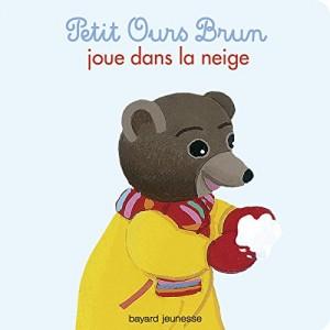 """Afficher """"Petit Ours brun n° 27 Petit Ours brun joue dans la neige"""""""