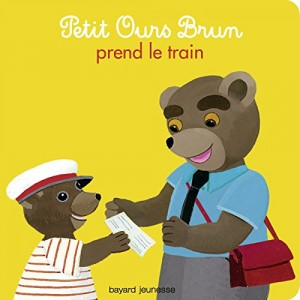 """Afficher """"Petit Ours brun n° 26 Petit Ours brun prend le train"""""""
