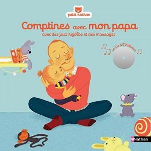 """Afficher """"Comptines avec mon papa"""""""