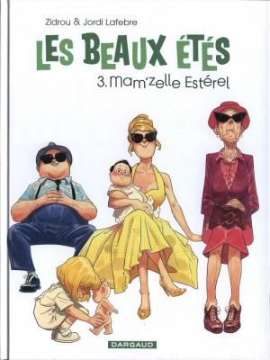 vignette de 'Les beaux étés n° 3<br /> Mam'zelle Estérel (Zidrou)'