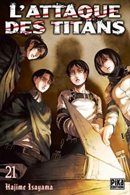 """Afficher """"L'Attaque des titans n° 21<br /> L'attaque des Titans (tome 21)"""""""