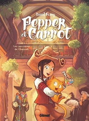 vignette de 'Pepper et Carrot n° 2<br /> Les Sorcières de Chaosah (David Revoy)'
