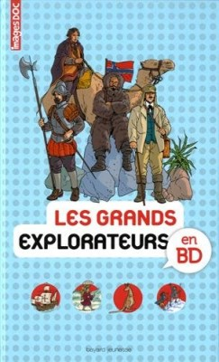 "Afficher ""Grands explorateurs en BD (Les)"""