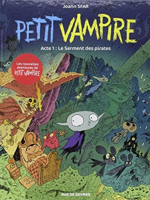 "Afficher ""Petit vampire n° 1 Petit vampire : acte 1 : Le serment des pirates"""
