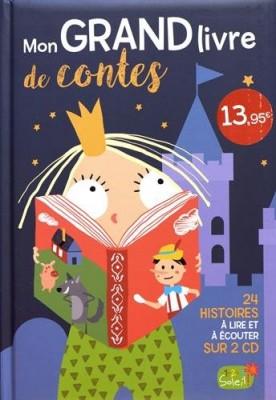 """Afficher """"Mon grand livre de contes"""""""