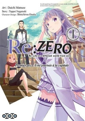 """Afficher """"Re : Zero Premier arc : une journée à la capitale n° 1 Premier arc : une journée à la capitale 1"""""""