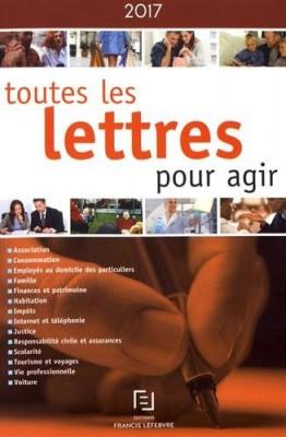 vignette de 'Toutes les lettres pour agir (Éditions Francis Lefebvre)'