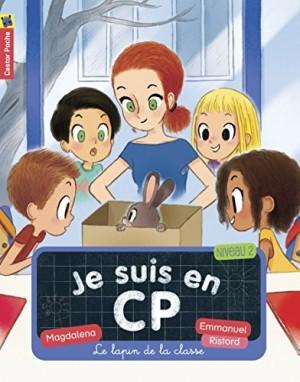 """Afficher """"Je suis en CP n° 12 Le lapin de la classe"""""""