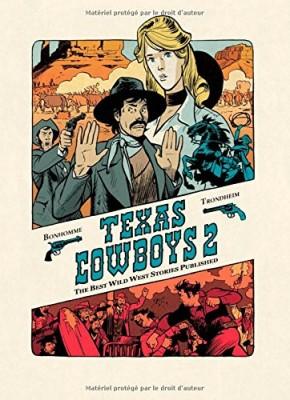 vignette de 'Texas cowboys : the best wild west stories published n° 02<br /> Texas cowboys (Lewis Trondheim)'