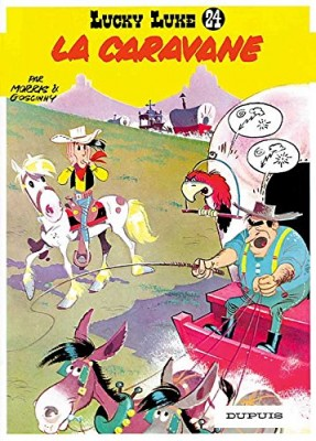 """Afficher """"Lucky Luke n° 24 La caravane"""""""