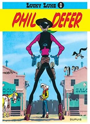 """Afficher """"Lucky Luke n° 8 Phil Defer """"Le faucheux"""""""""""