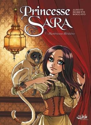 Couverture de Princesse Sara n° 3 Mystérieuses héritières