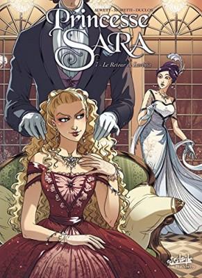 Couverture de Princesse Sara n° 7 Le retour de Lavinia