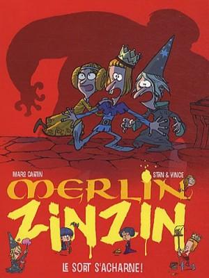 "Afficher ""Merlin Zinzin n° 3 Sort s'acharne ! (Le)"""