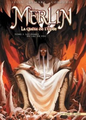 """Afficher """"Merlin, la quête de l'épée n° 5Les dames du lac de feu"""""""