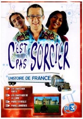Couverture de C'est pas sorcier L'Histoire de France