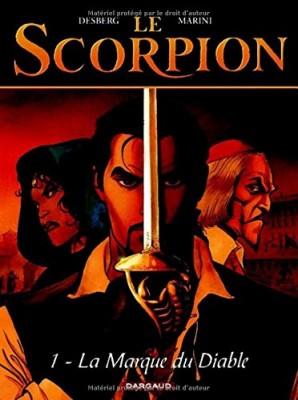 vignette de 'Le Scorpion n° 1<br />La Marque du diable (Stephen Desberg)'