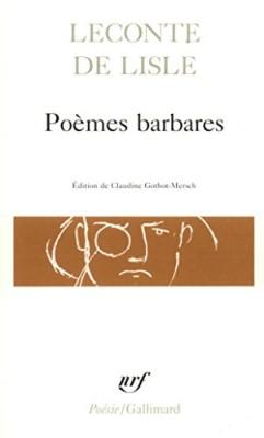 "Afficher ""Poèmes barbares"""