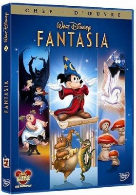 """Afficher """"Fantasia DVD"""""""
