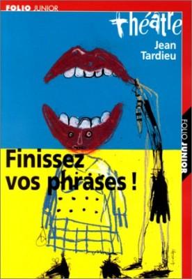 "Afficher ""Finissez vos phrases !"""