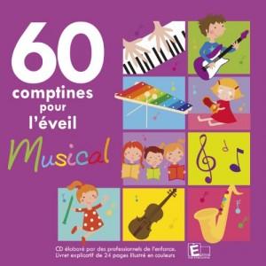 """Afficher """"60 comptines pour l'éveil musical"""""""