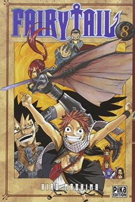 "Afficher ""Fairy Tail n° 8"""