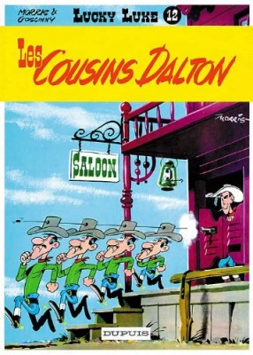 "Afficher ""Lucky Luke n° 12 Les cousins Dalton"""