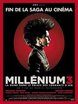 """Afficher """"Millénium n° 3 Millénium 3 - La reine dans le palais des courants d'air"""""""