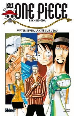 """Afficher """"One Piece n° 34 Water Seven, la cité sur l'eau"""""""