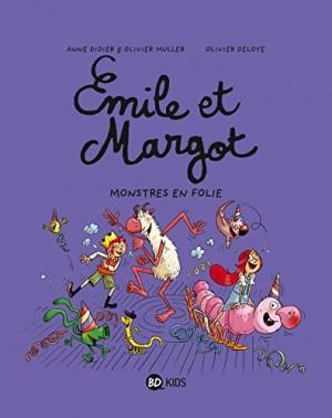 """Afficher """"Émile et Margot n° 7 Monstres en folie"""""""