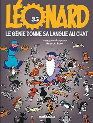 """Afficher """"Léonard n° Tome 35 Le génie donne sa langue au chat"""""""