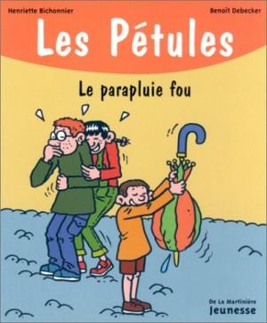 """Afficher """"Pétules (Les) n° 11 Le parapluie fou"""""""