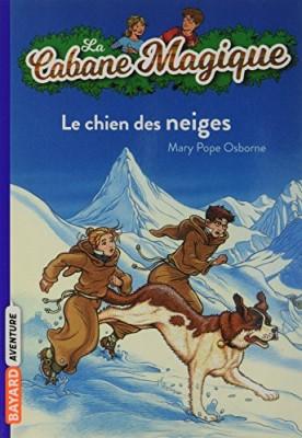 """Afficher """"La cabane magique n° 41 Le chien des neiges"""""""