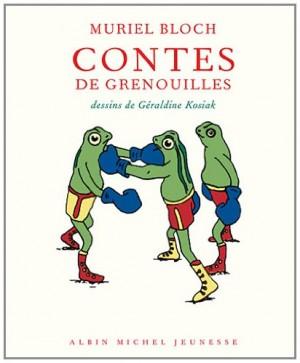 vignette de 'Contes de grenouilles (Muriel Bloch)'