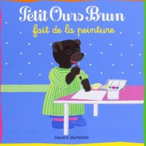 """Afficher """"Petit Ours Brun Petit ours brun fait de la peinture"""""""