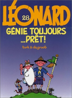 "Afficher ""Léonard n° 28 Génie toujours prêt !"""