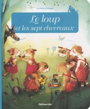 """Afficher """"Minicontes classiques Le loup et les sept chevreaux"""""""