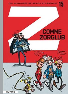 "Afficher ""Spirou et Fantasio n° 15 Z comme Zorglub"""