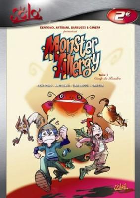 vignette de 'Monster allergy n° 1<br /> Coup de poudre (Katja Centomo)'