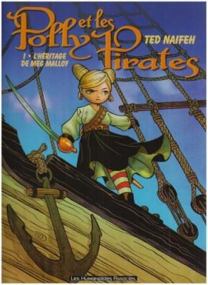 """Afficher """"Polly et les pirates n° 1 L'Héritage de Meg Malloy"""""""
