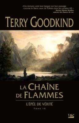 """Afficher """"L'épée de vérité n° 9 La chaîne des flammes"""""""