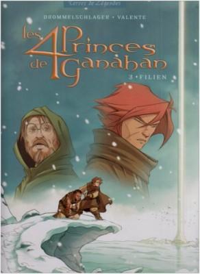 """Afficher """"Les 4 princes de Ganahan n° 3Filien"""""""