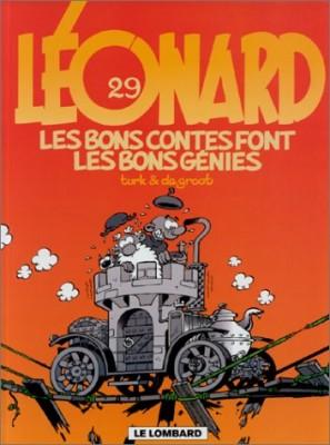 """Afficher """"Léonard n° Tome 29 Les bons contes font les bons génies"""""""