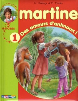 "Afficher ""Martine, 5 histoires n° 1 Des amours d'animaux !"""